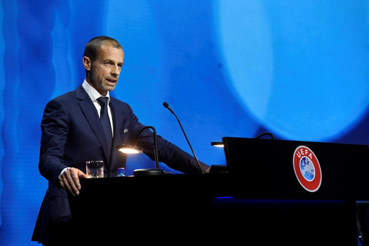 Александер Чеферін - президент УЄФА / фото REUTERS