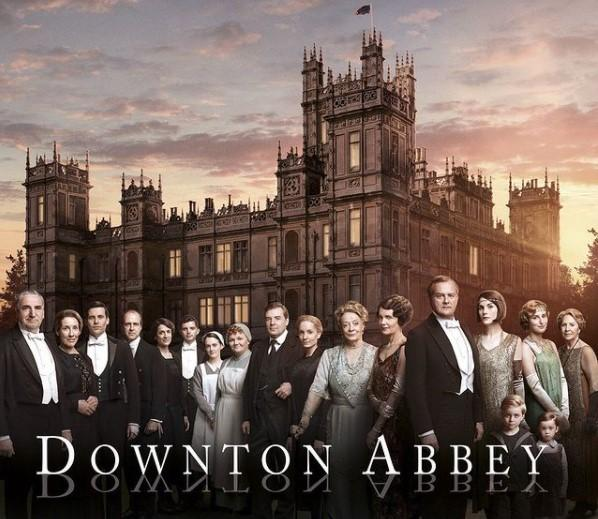 фото Downton Abbey, Instagram