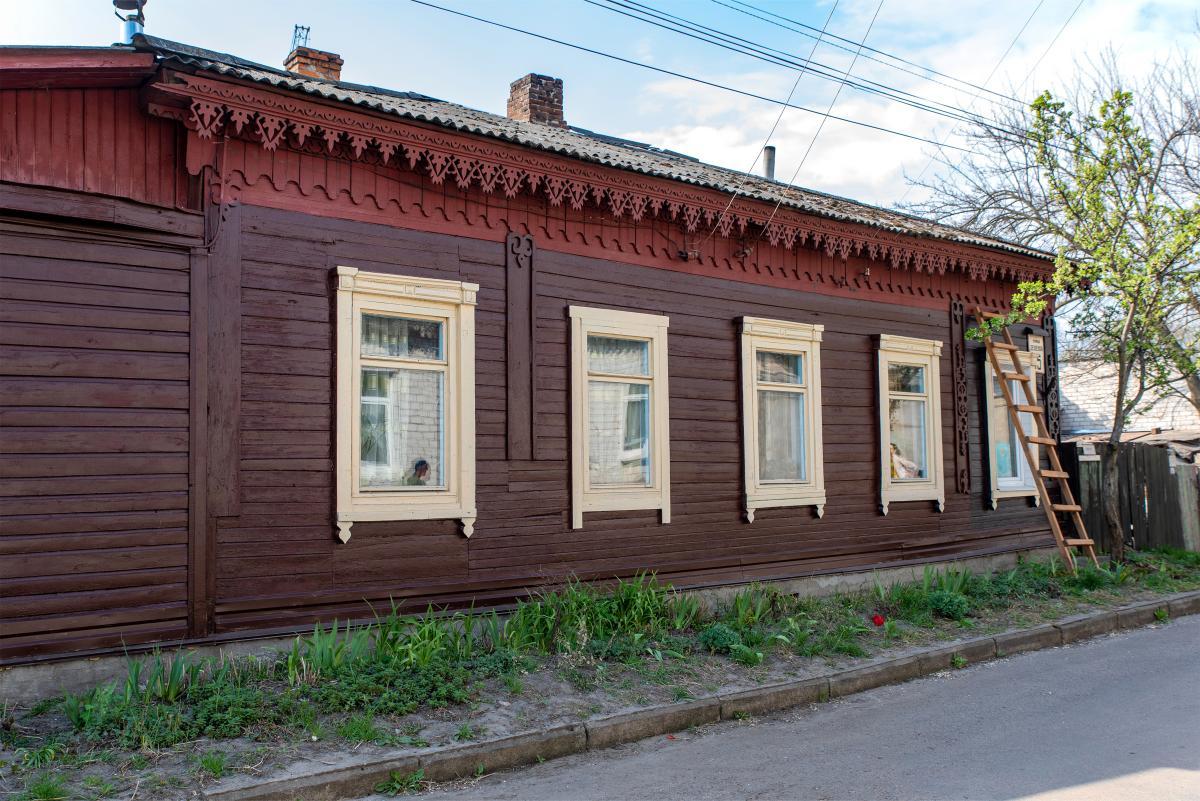 Відновлений будинок на вулиці Зеленій /фото проекту «Дерев'яне мереживо Чернігова»