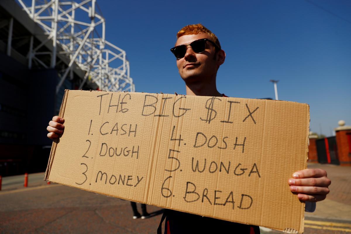 Топ-6 английских команд прислушались к акциям протеста среди фанатов / фото REUTERS