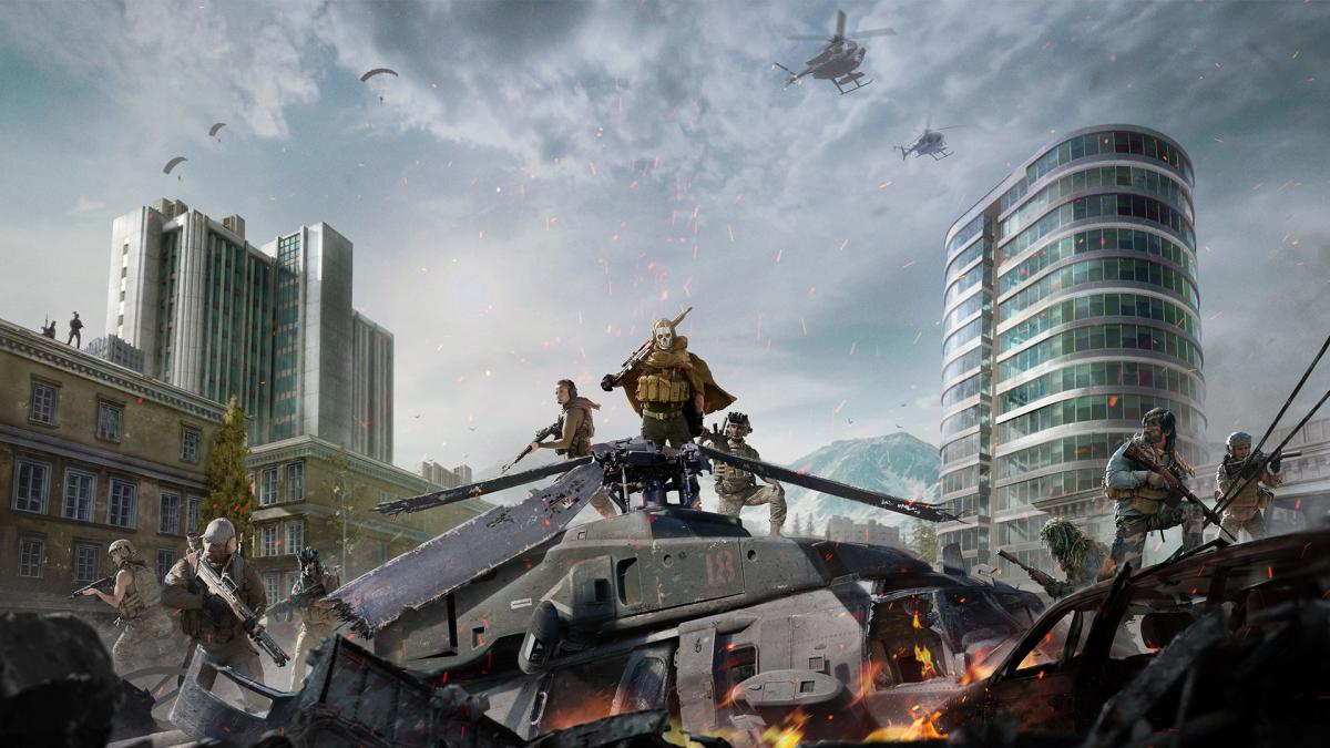 Кадр з гри Call of Duty : Warzone / фото Activision Blizzard