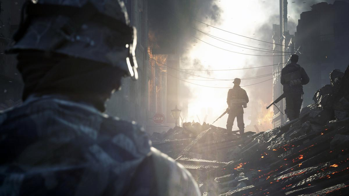 Кадр из Battlefield V / фото DICE