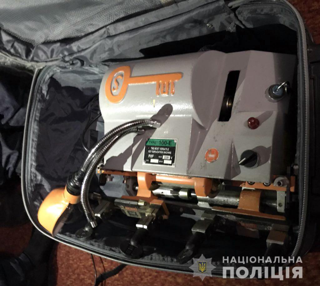 У задержанных изъято орудие преступлений / фото mvs.gov.ua