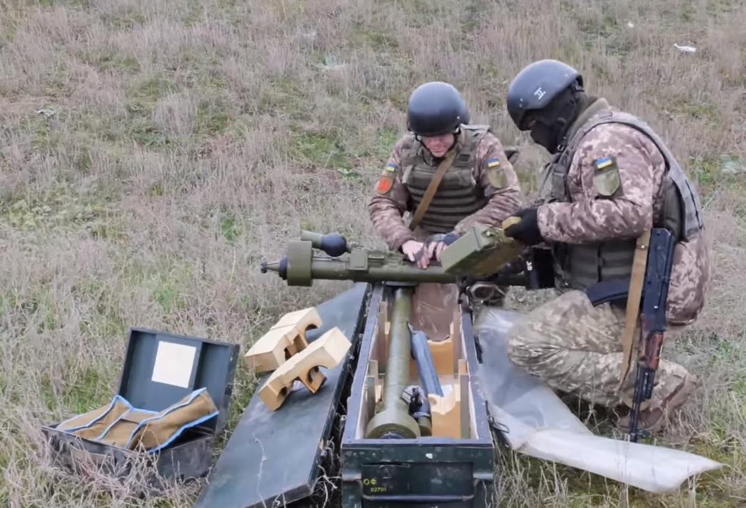 Учения ВСУ в Херсонской области - военные отработали условное уничтожение врага: видео / скриншот