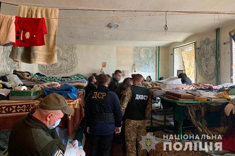Осужденный позиционировал себя в тюрьме одним из «смотрящих» / фото Нацполиции