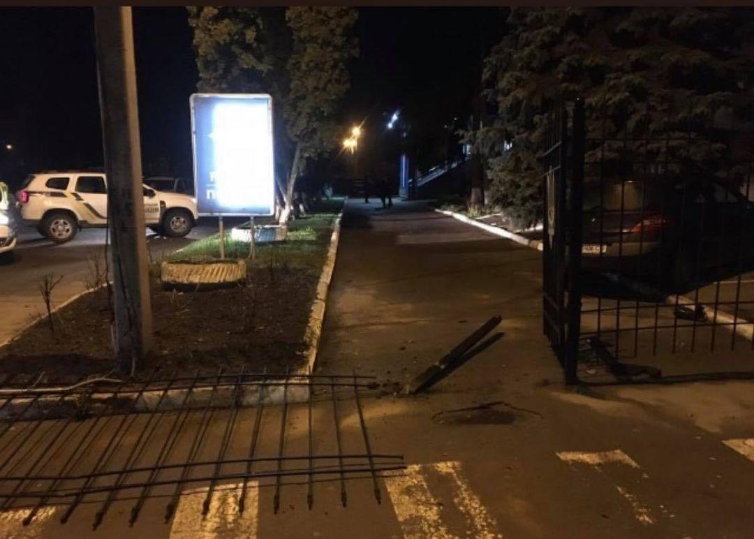 В результате ДТП никто не пострадал / фото Facebook Олега Кривцова
