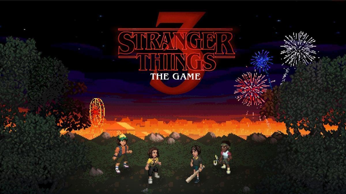 Кадр из игры Stranger Things 3: The Game / фото BonusXP