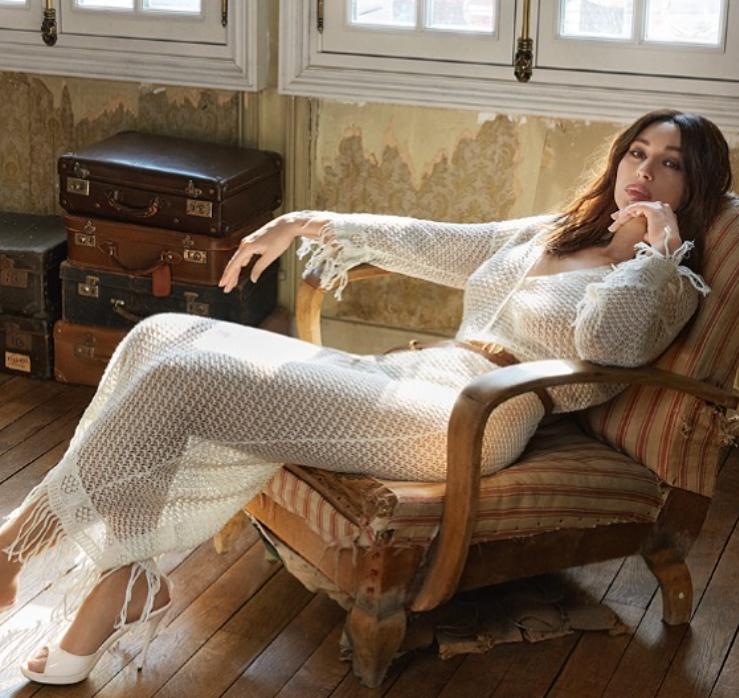 Актриса поделилась с поклонниками новымиснимками \ .instagram.com/monicabellucciofficiel/