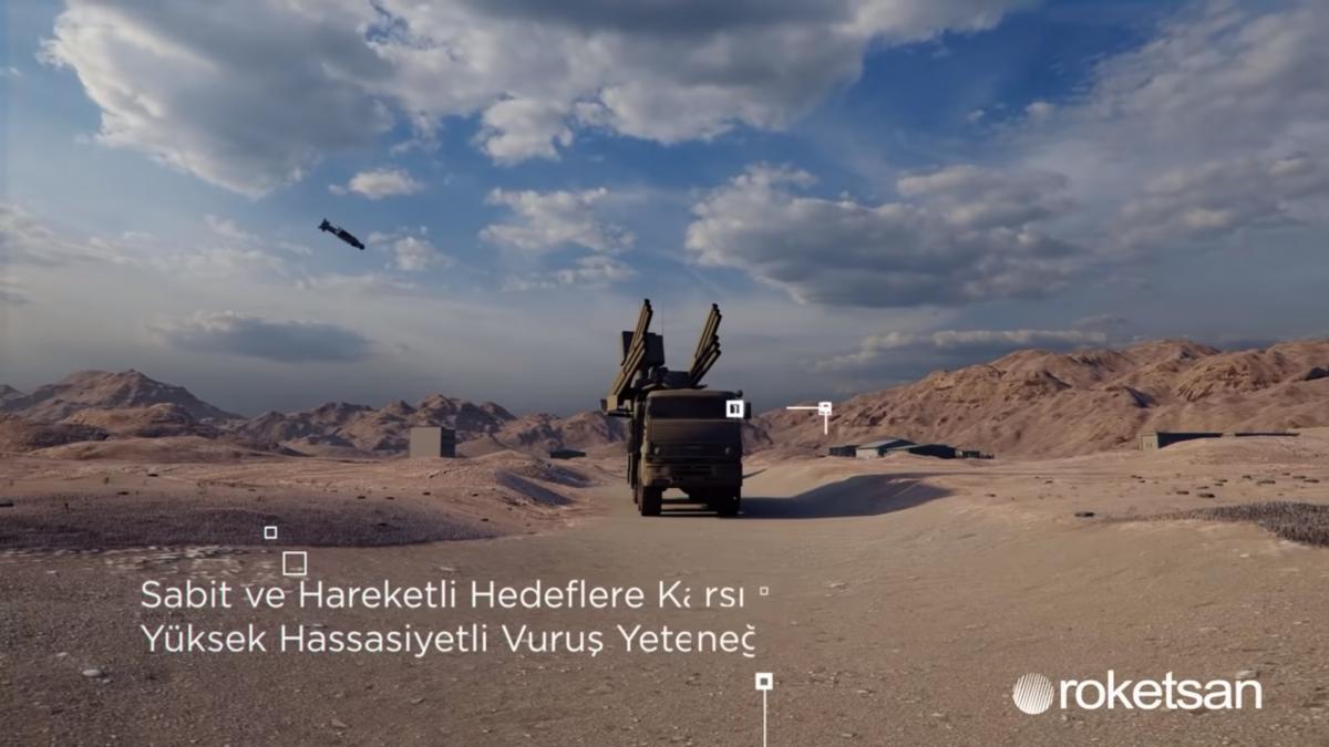"""В качестве цели турки выбрали российский зенитный ракетно-пушечный комплекс """"Панцирь-С1"""" / скриншот из видео"""