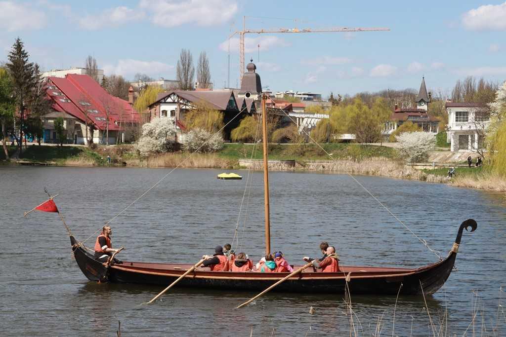 Лодка создана для плавания на самых маленьких реках и водоемах / фото УНИАН