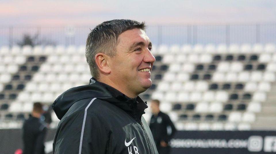 Команда Руслана Костышина занимает на данный момент четвертое место в УПЛ / фото ФК Колос