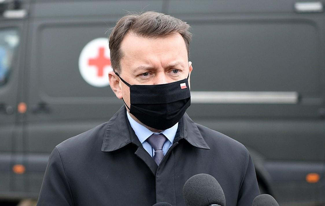 Министр утверждает, что события на украинско-российской границе вызывают беспокойство в Польше / фото twitter.com/mblaszczak