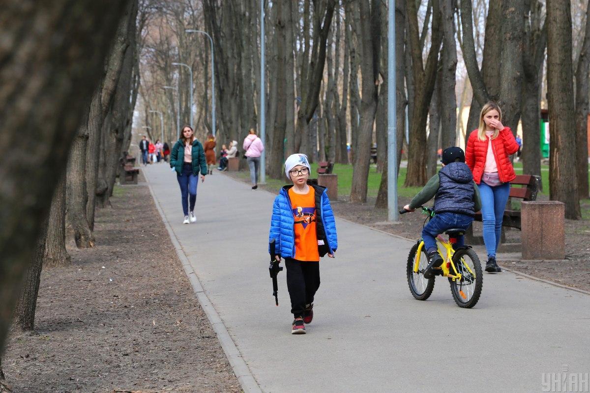 Карантин у Києві з 1 травня - що дозволено / фото УНІАН