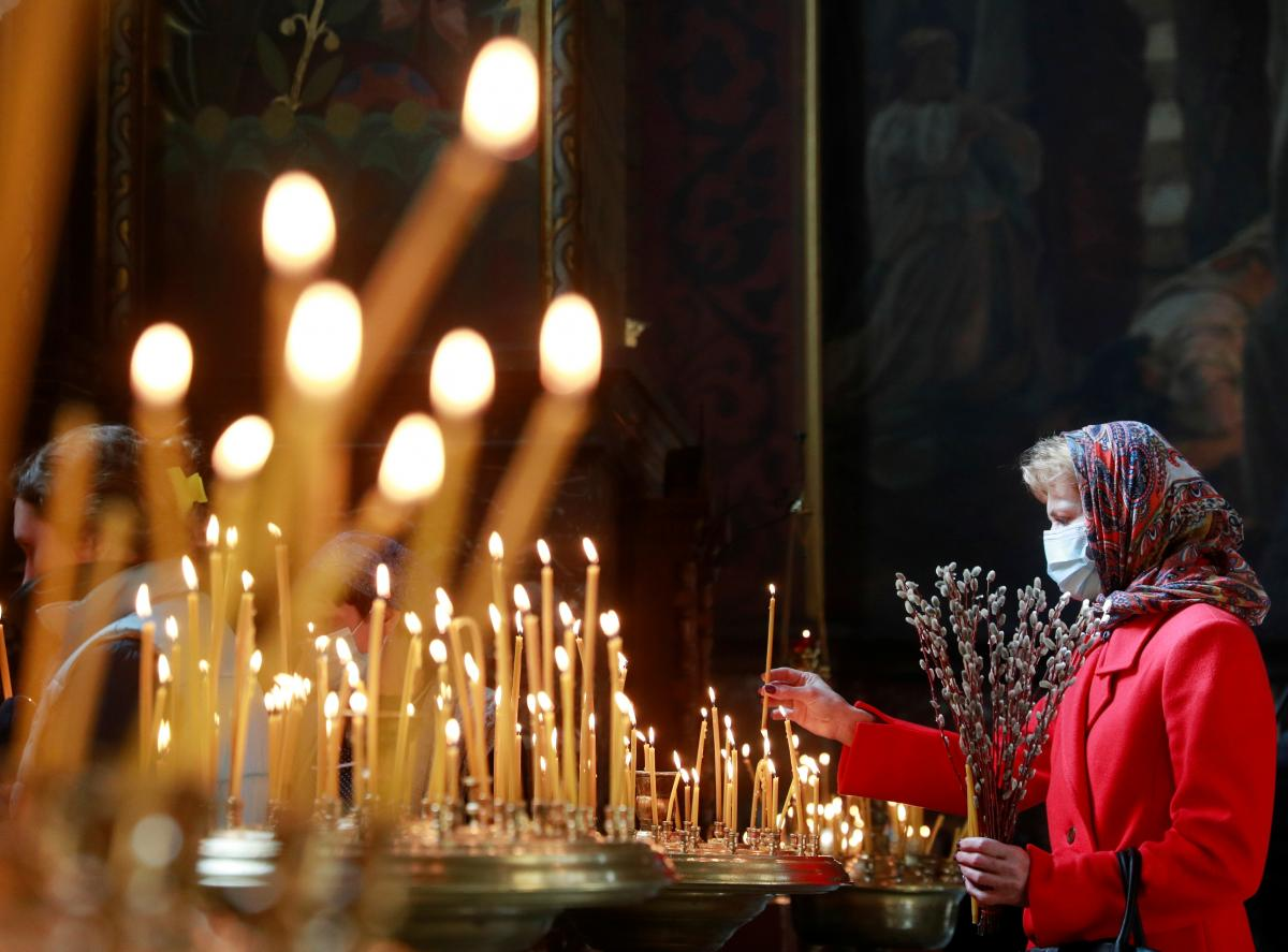61% взрослых украинцев верят в Бога / фото REUTERS