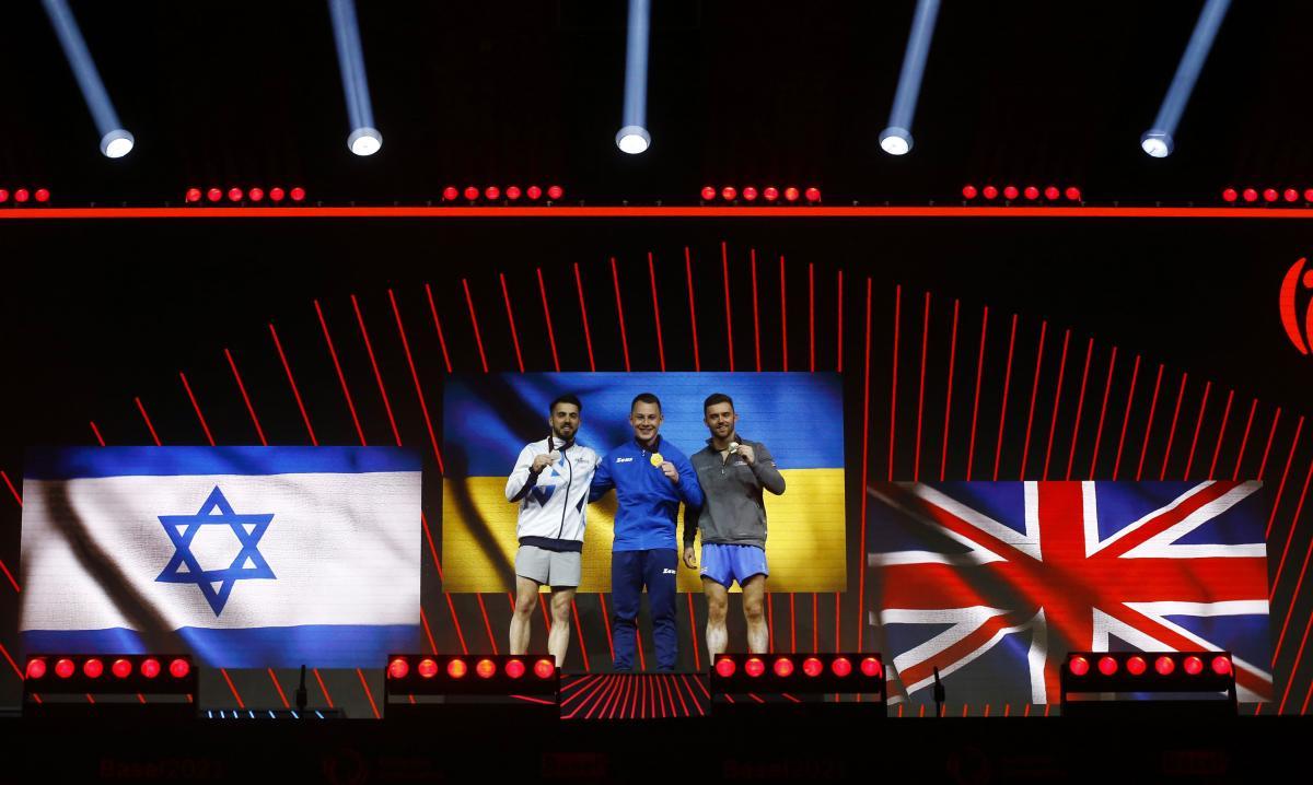 Тройка призеров / фото REUTERS