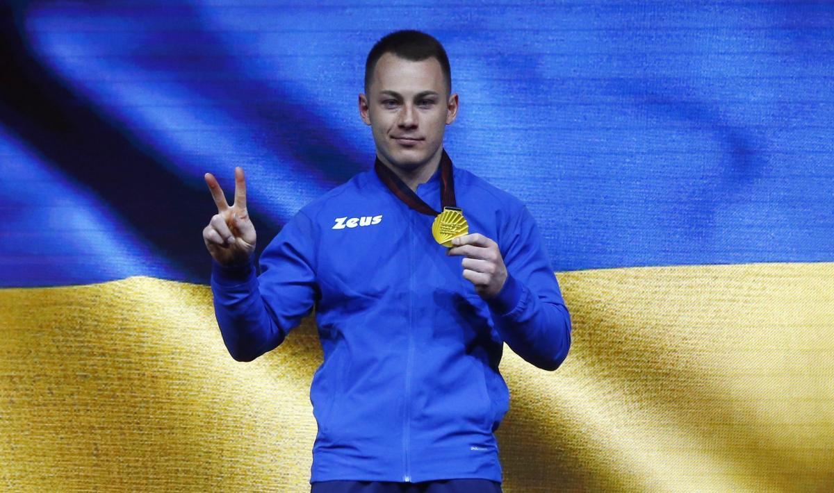 Игорь Радивилов - чемпион Европы/ фото REUTERS