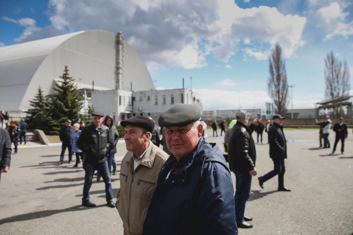 Журналисты УНИАН побывали в Чернобыле и показали, как живет город/ фото УНИАН,Ратынский Вячеслав