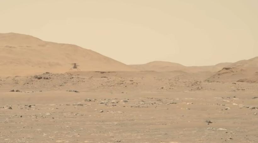 Марсоход установил рекорд \ скриншот с видео