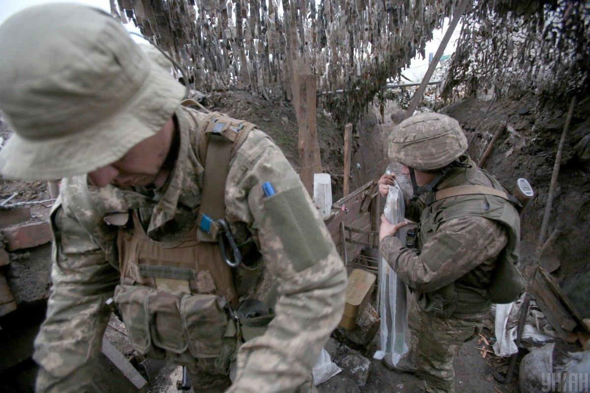 One WIA amid 15 truce violations in Donbas on April 28 / Photo from UNIAN