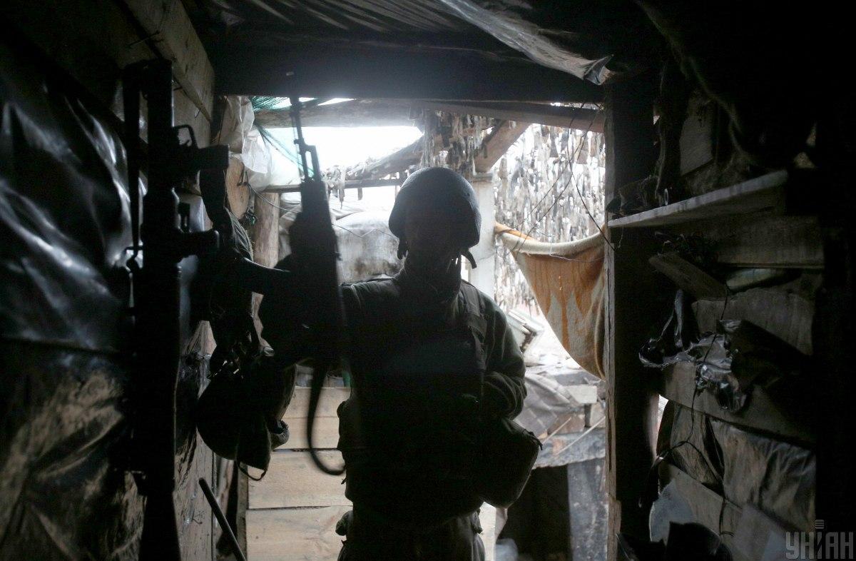 Ніхто з українських бійців не постраждав/ фото УНІАН,Степанов Анатолій