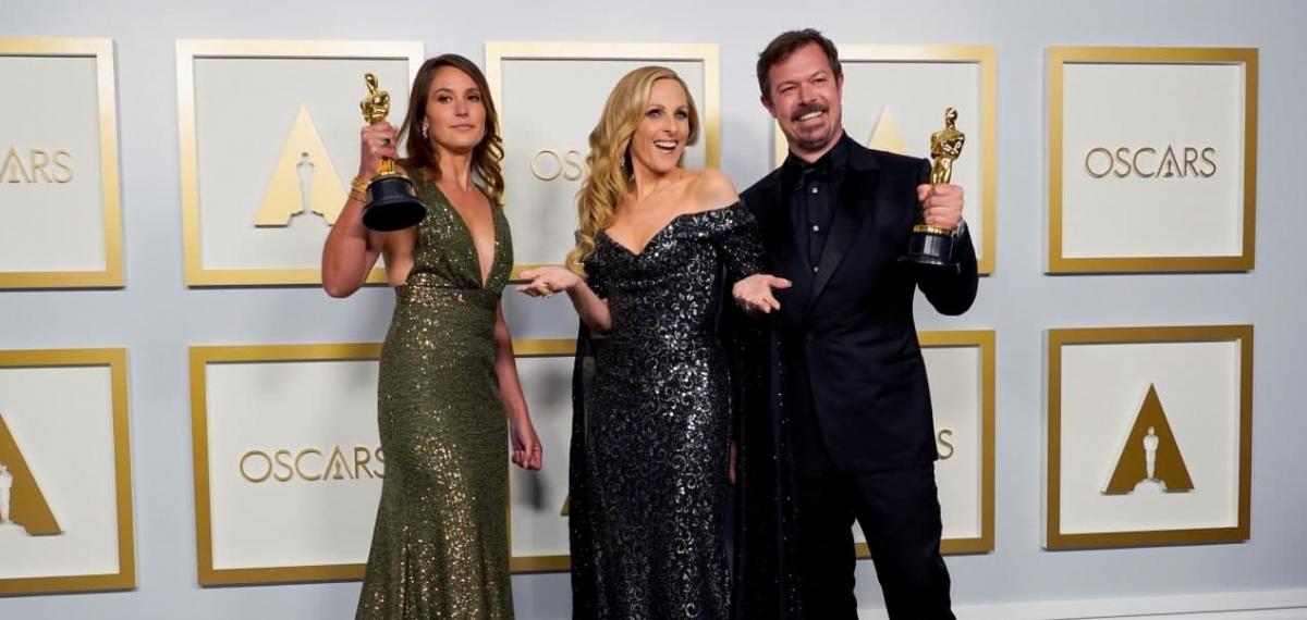 """Кращі наряди на"""" Оскарі """" / reuters"""