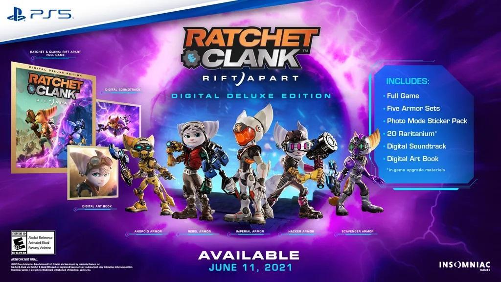 Расширенное цифровое издание Ratchet & Clank: Rift Apart / фото blog.playstation.com