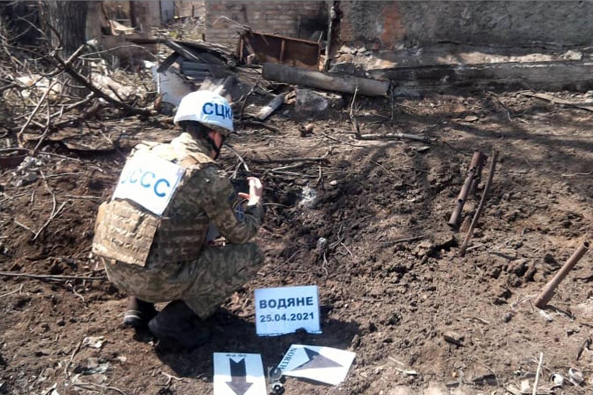 За даними СЦКК, бойовики використали заборонене Мінськими домовленостями озброєння / фото facebook.com/pressjfo.news