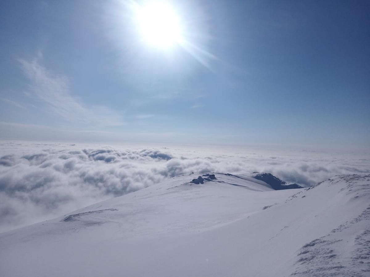 Утро на Черной горе / Фото facebook.com/chornogora.rescue112