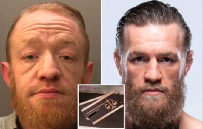 Марк Най (слева) действительно похож на Конора Магрегора / фото Surrey Police