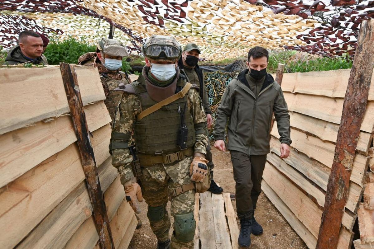 Зеленський заявив, що можливість повномасштабного вторгнення РФ була / фото Офіс президента