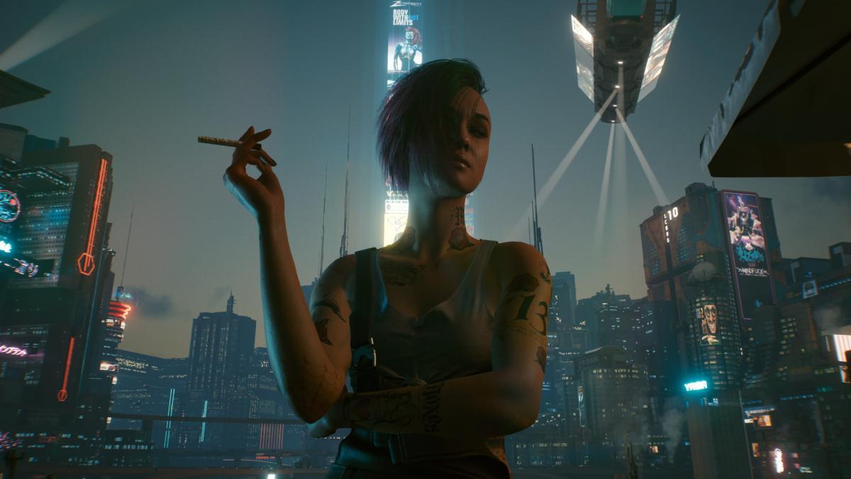 У разработчиков Cyberpunk 2077 объяснили, почему игра вышла с кучей глюков и багов / фото CD Project Red