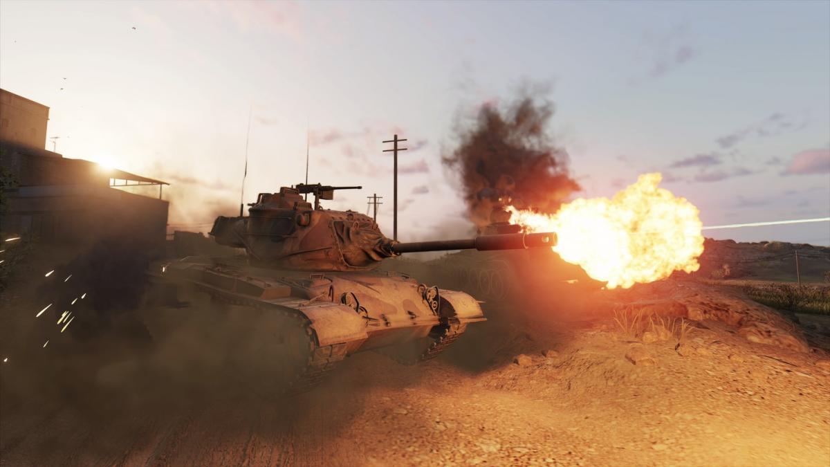 ОбновлениеModern Armor уже доступно в консольной версии World of Tanks /фото wargaming.net