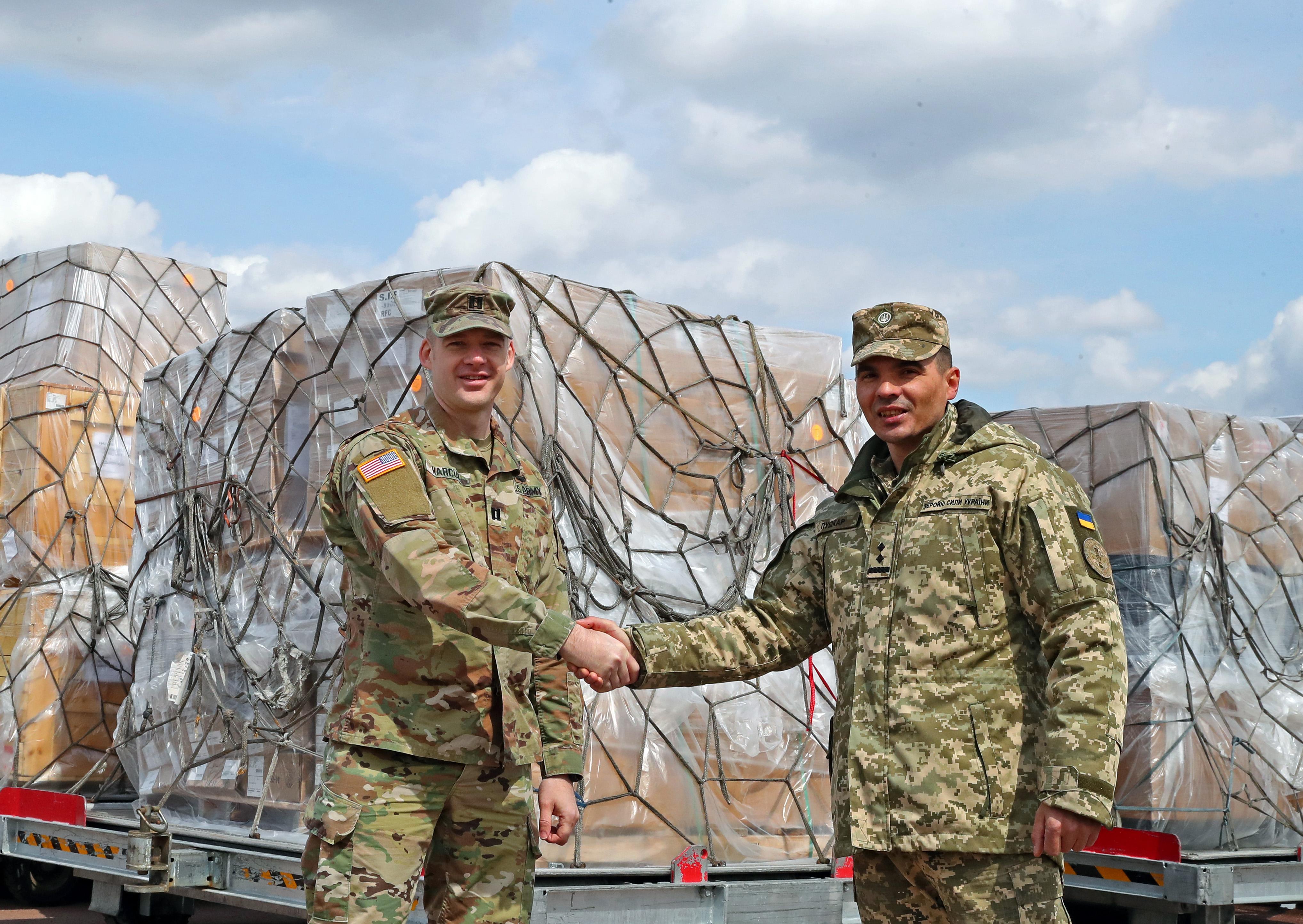 США продовжують підтримувати українську армію/ фото посольства США в Києві