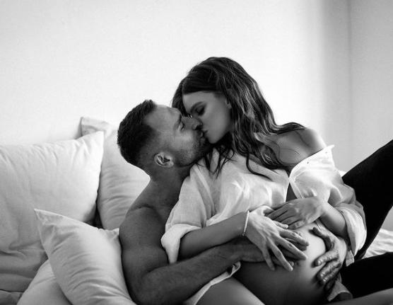 У пары родился первенец / фото instagram.com/dasha_khlystun_