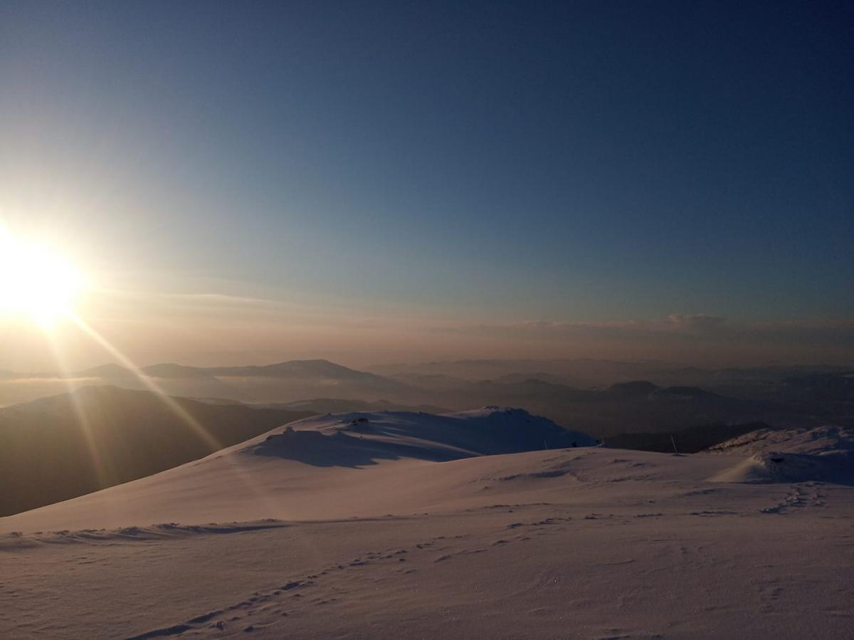 Сказочное утро в Карпатах / Фото facebook.com/chornogora.rescue112