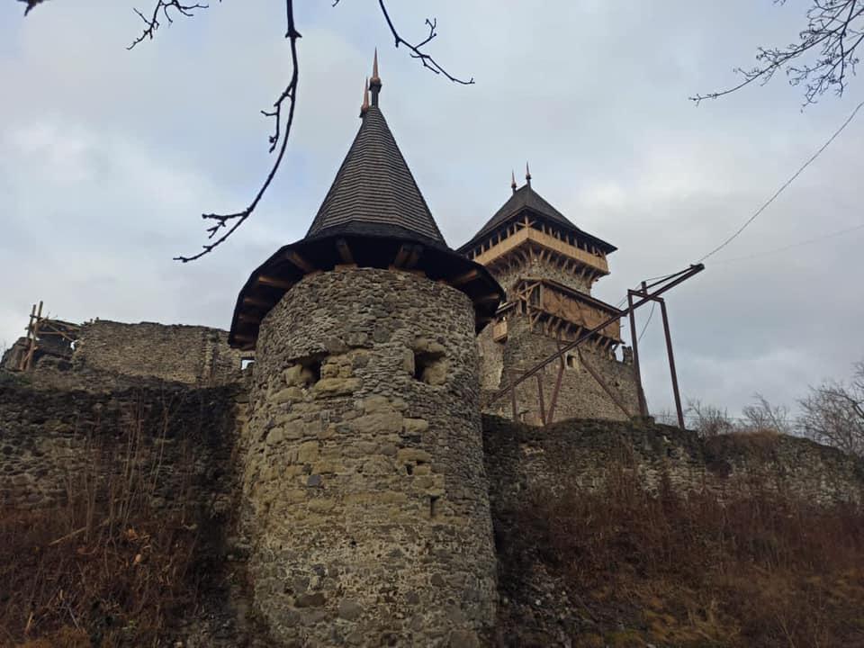 Реставрація Невицького замку / Вайнагій Богдан / Facebook