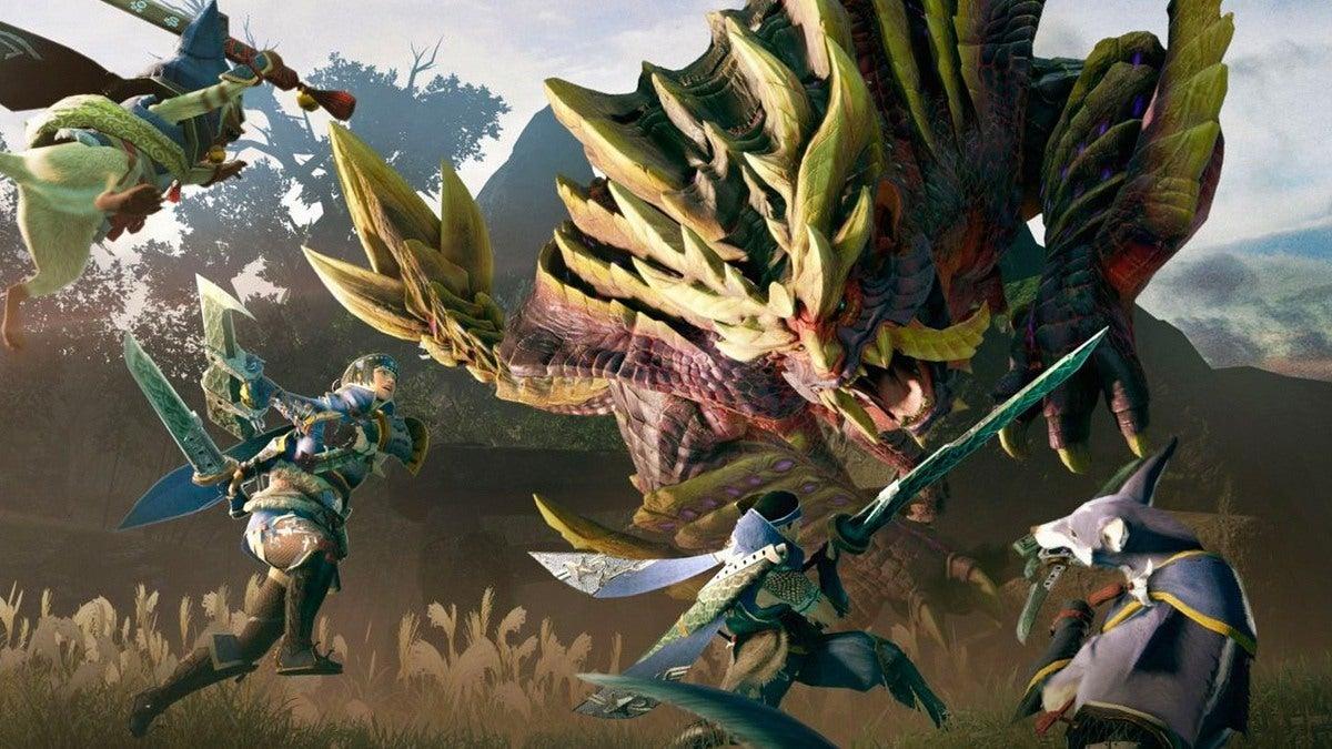 Monster Hunter Rise вышла только на Nintendo Switch /фото Capcom