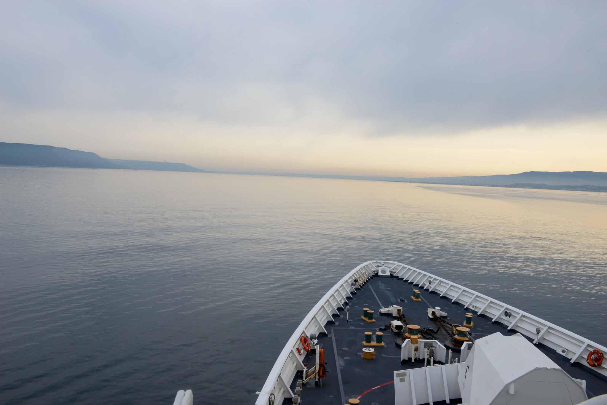 В Черное море прибыл американский военный катер / Twitter
