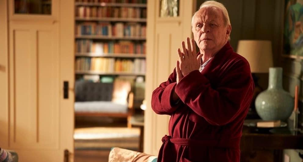 За роль в фильме «Отец» Энтони Хопкинс получил свой второй «Оскар» / кадр из фильма «Отец»