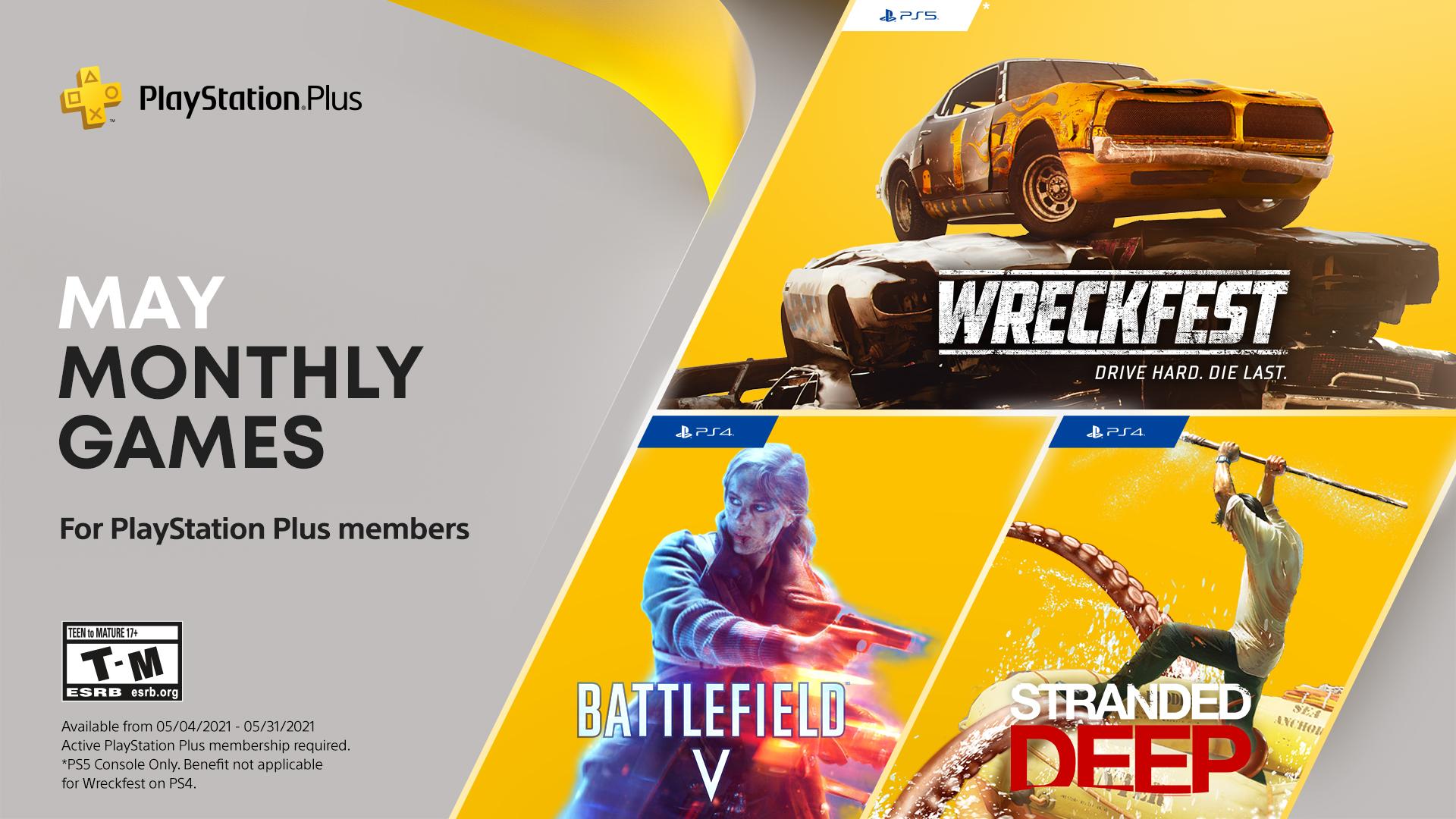 Травнева добірка ігор для передплатників PS Plus / фото playstation.com