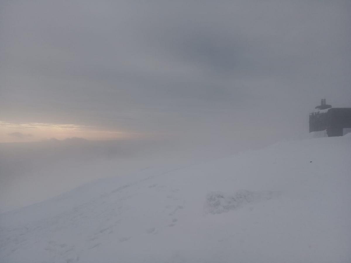 В горах начинается постепенное потепление / Фото facebook.com/chornogora.rescue112