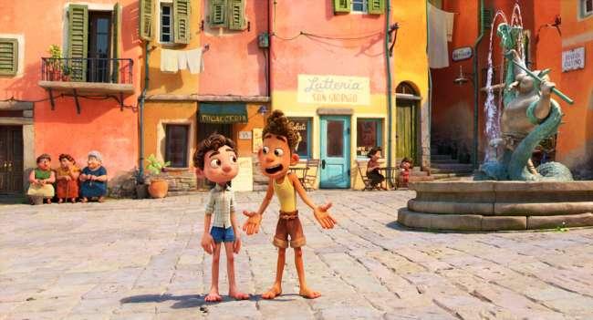 """Как и все мультфильмыPixar """"Лука"""" отличается прекрасной рисовкой / кадр из фильма"""