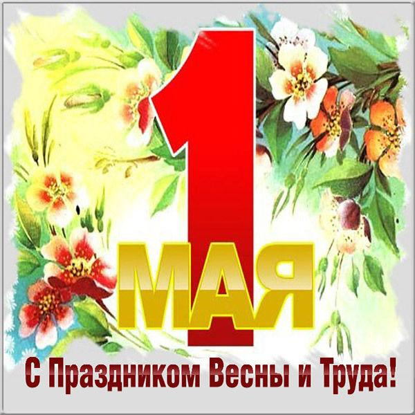 З 1 травня привітання / фото fresh-cards.ru