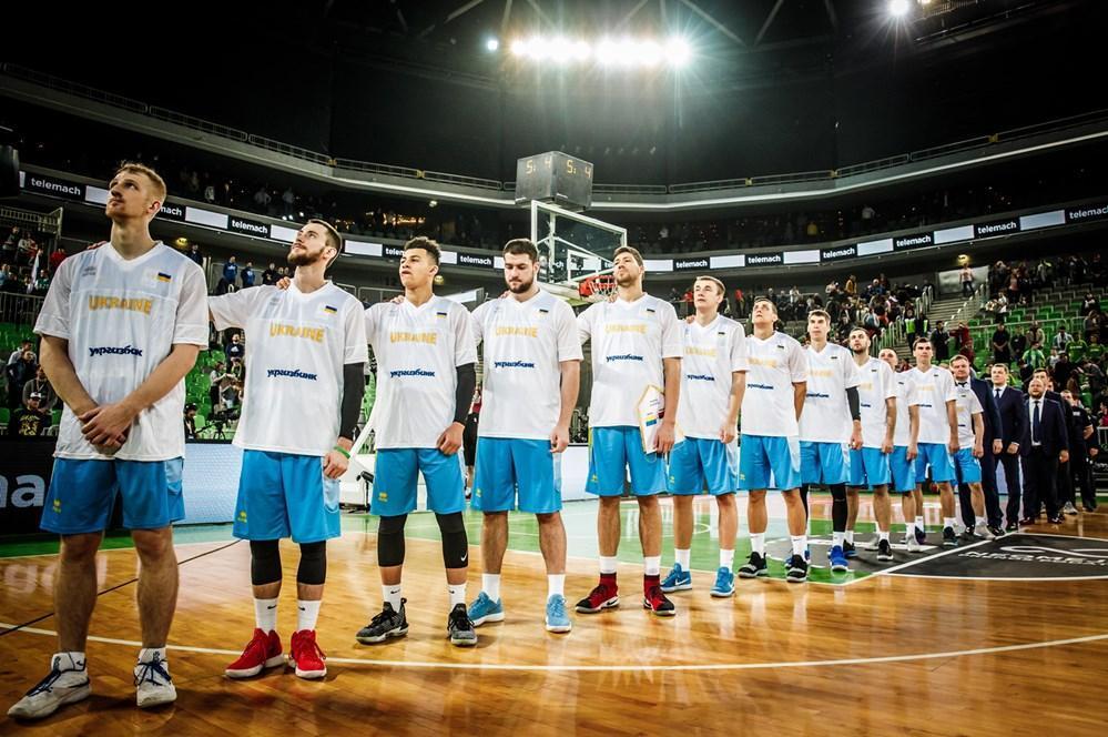 Сборная Украины попала в группу С / фото FIBА