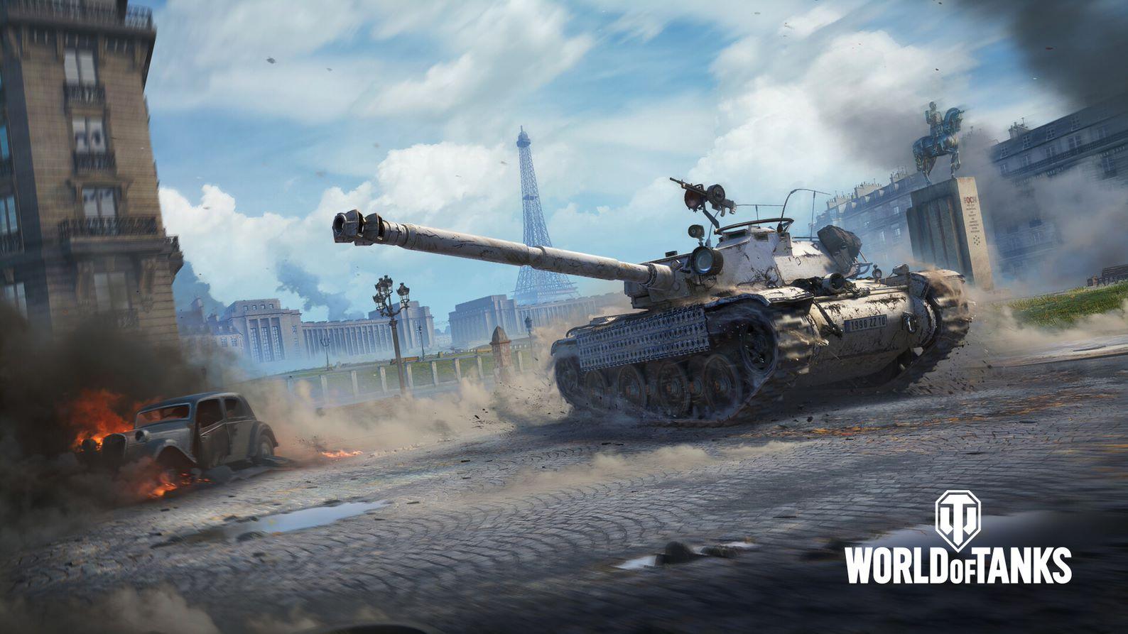 World of Tanks теперь доступна и в Steam /фото wargaming.net