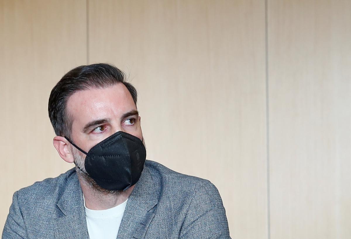 Кристоф Метцельдер в зале суда / фото REUTERS