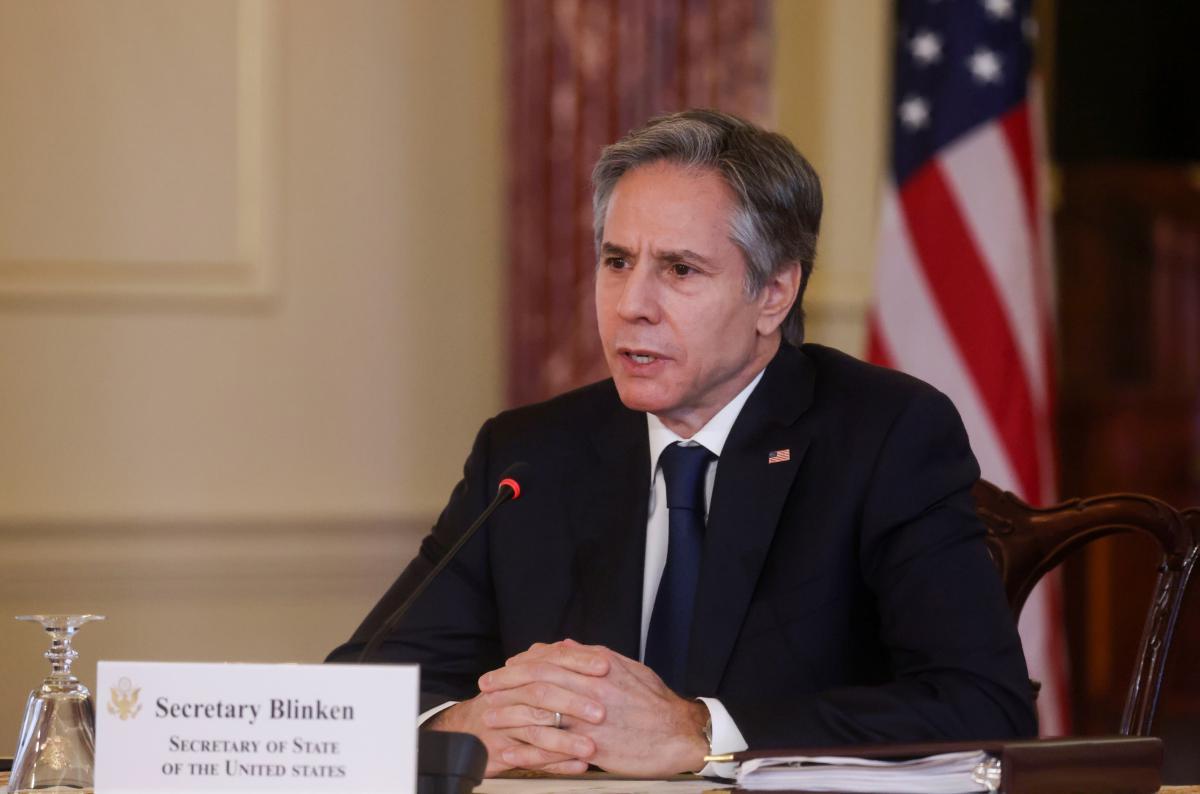 За даними ЗМІ, Держсекретар США Блінкен приїде в Україну наступного тижня / фото REUTERS