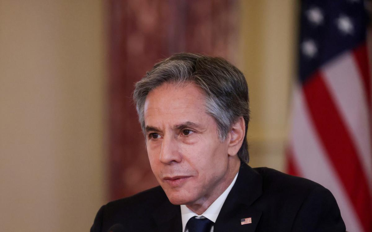 U.S. Secretary of State Blinken willvisit Ukraine next week / REUTERS
