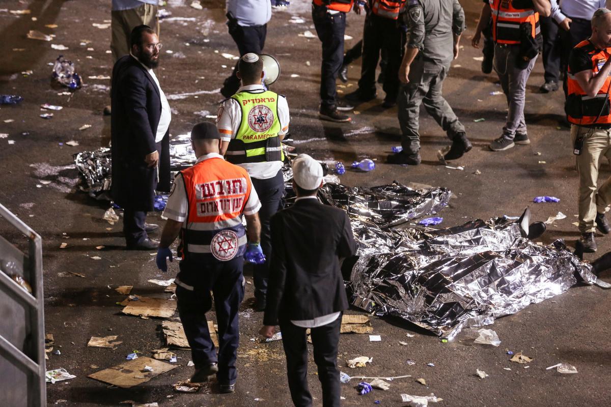 В Ізраїлі загинули десятки людей внаслідок тисняви \ Фото REUTERS