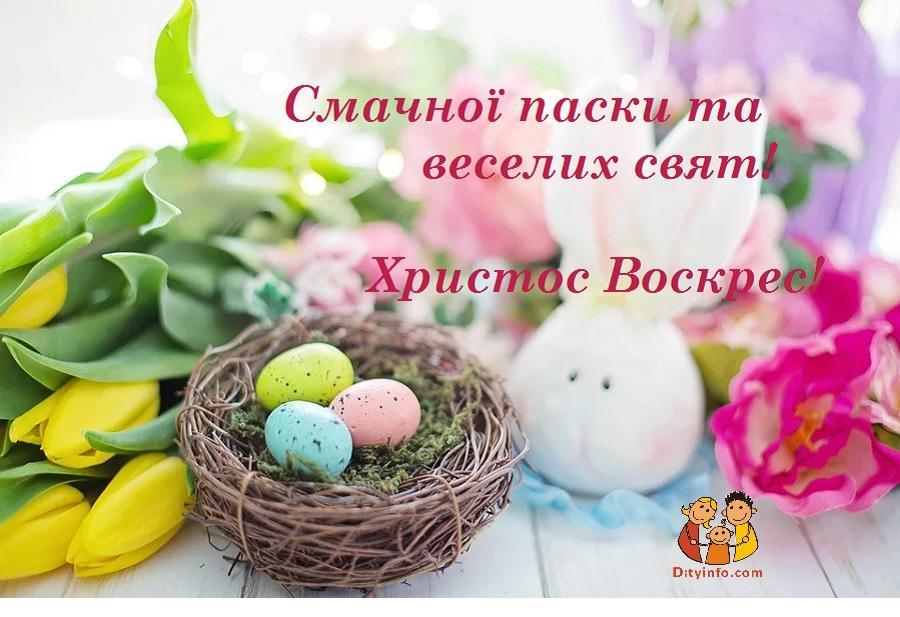 Листівки з Великоднем / dityinfo.com